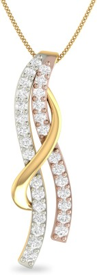 WearYourShine by PC Jewellers PC Jeweller The Eilenn 18kt Diamond Yellow Gold Pendant at flipkart