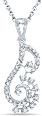 Mani Jewel Divya Collection White Gold Pendant