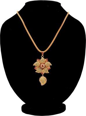 Harini Floral Pendant Yellow Gold Alloy Pendant