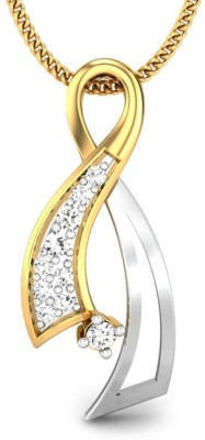 Candere Melisa 14kt Diamond Yellow Gold Pendant