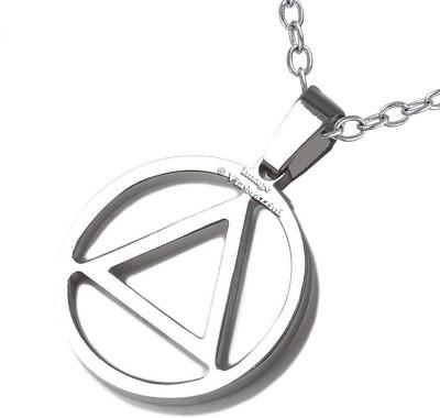 Via Mazzini Rapper Eminem Inspired Triangle Pendant (NK0366) Metal