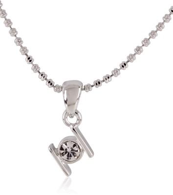 Estella Fashion 6113 Nk Smp Bs Silver Crystal Alloy Pendant