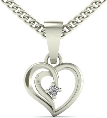 Diamonddad Valentine Heart 04 18kt Diamond Yellow Gold Pendant