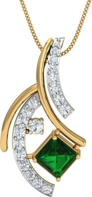 Dishis Designer Jewellery The Sweet Iniya 18kt Diamond Yellow Gold Pendant