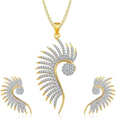Opal Touch Rhodium Brass