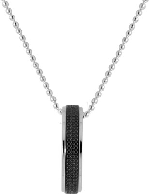 NIA for Voylla Artificial Classic Plain Silver Alloy Pendant at flipkart