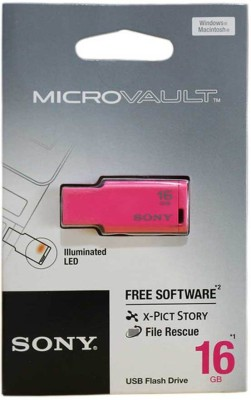 Sony USM16M 1/P IN MICROVAULT 16 GB Pen Drive