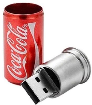 Digitalk Solution Fancy Coca Cola Can Shape 16 GB Pen Drive
