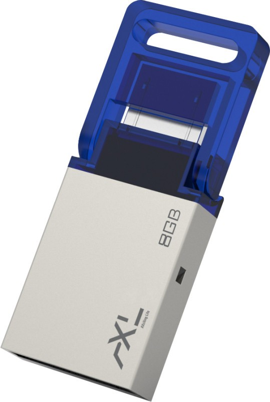 AXL Hybrid 8 GB OTG Drive(Blue, Type A to Micro USB)
