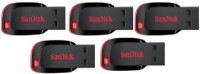 SanDisk Cruzer Blade USB Flash Drive 8 GB Pen Drive(Black) best price on Flipkart @ Rs. 1890