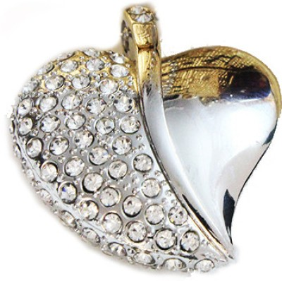 Schnell Heart Shaped Jewel 8 GB Pen Drive