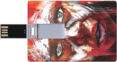 Printland Credit Card Shaped PC81912 8 GB Pen Drive