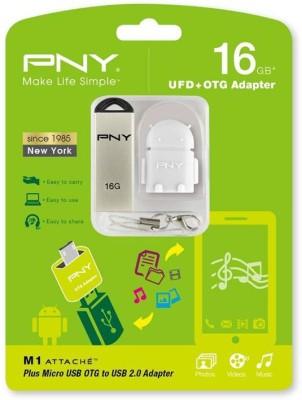 PNY M1 Attache OTG 16 GB Pen Drive