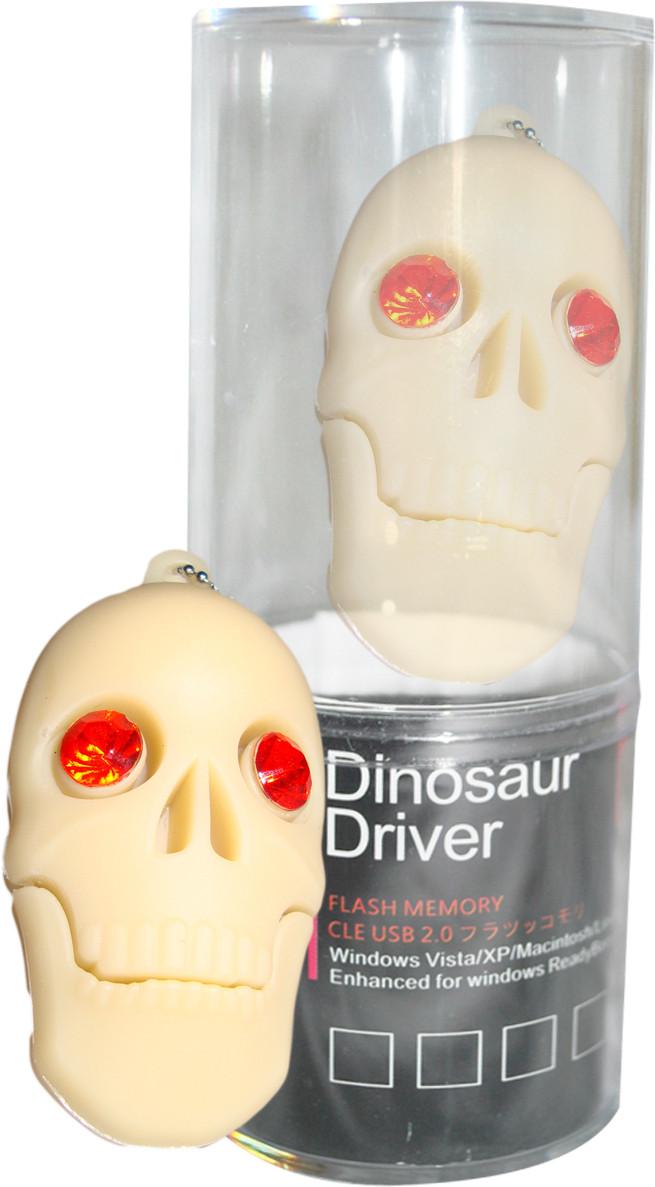 View Dinosaur Drivers Skeleton 16 GB Pen Drive(Multicolor) Price Online(Dinosaur Drivers)