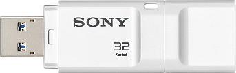 View Sony USM-32X/WZ 32 GB Pen Drive(White) Price Online(Sony)