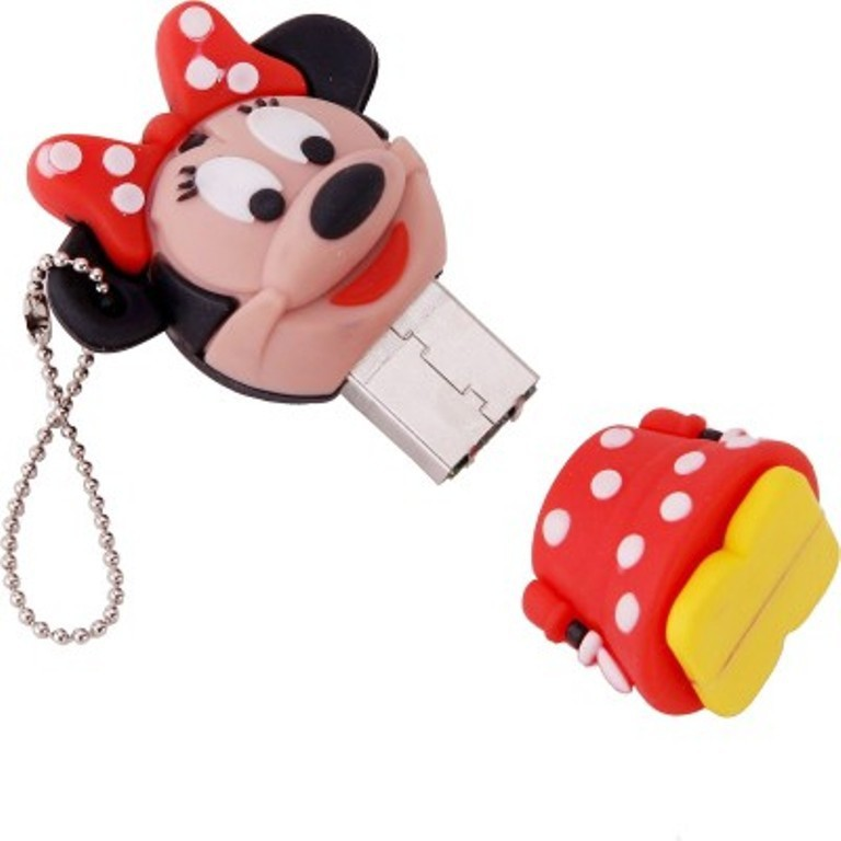 View Yes Celebration Minnie Mouse 8 GB Pen Drive(Red) Price Online(Yes Celebration)
