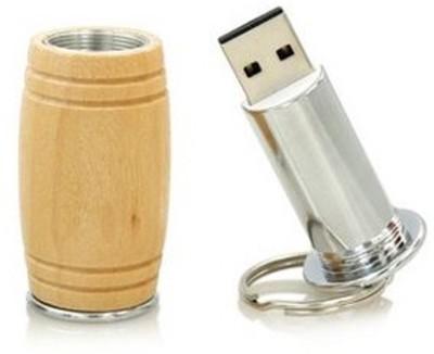 Digitalk Solution Fancy Wooden Drum 16 GB Pen Drive