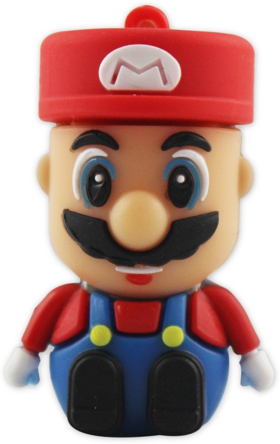View Shopizone Mario 32 GB Pen Drive(Red, Yellow) Price Online(Shopizone)