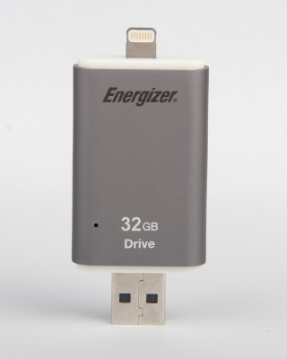 Energizer Lightning flash drive 32 GB Pen Drive(Grey) at flipkart