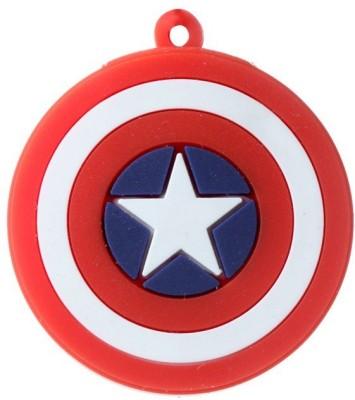 Quace Captain America Logo 16 GB Pen Drive
