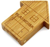 Quace Wood House 16 GB Pen Drive(Multicolor)