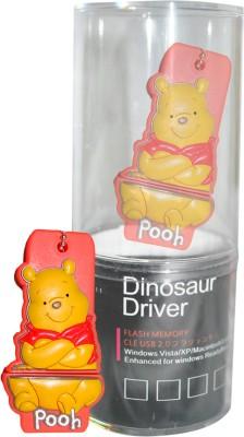 Dinosaur Drivers Pooh Yellow 8 GB Pen Drive