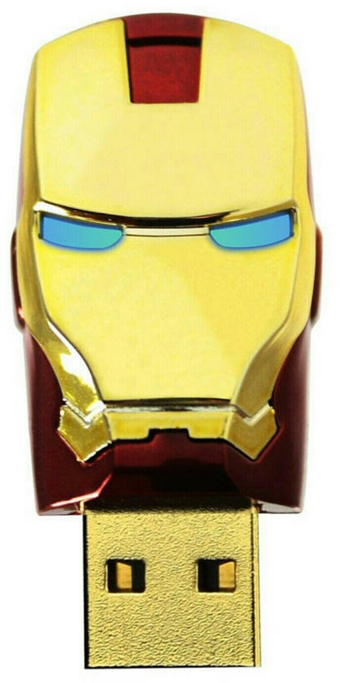 View Other Iron man 8 GB Pen Drive(Gold) Price Online(Other)