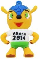 View HTH Brasil 2014 Shape 8 GB Pen Drive  Price Online
