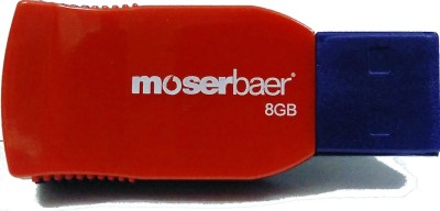 Moserbaer Racer 8 GB Pen Drive