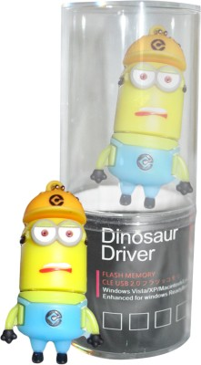 Dinosaur Drivers Minion 8 GB Pen Drive