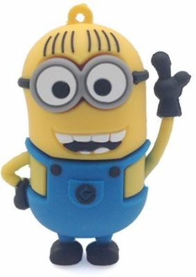 Quace Minion Hello 8 GB Pen Drive