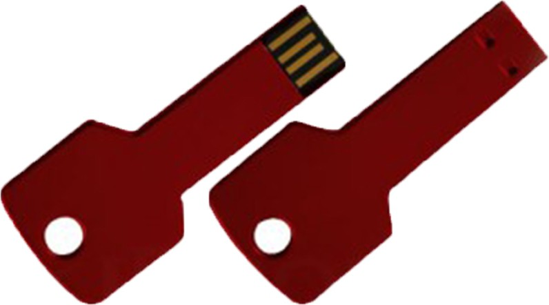 View The Fappy Store Red key 8 GB Pen Drive(Red) Price Online(The Fappy Store)
