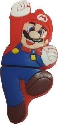 Microware Super Mario Shape 16 GB Pen Drive