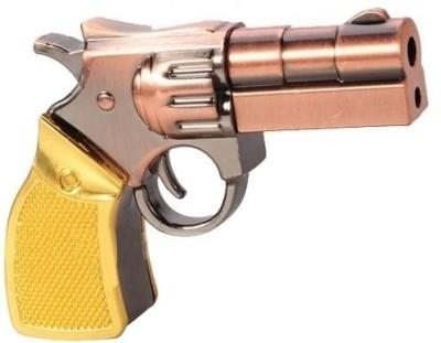Microware Gun Golden Metal Shape 32 GB Pen Drive