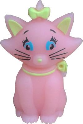 Microware Cute Pink Cat Shape 4 GB Pen Drive