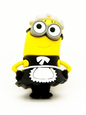 Quace Minion Maid Phil 4 GB Pen Drive
