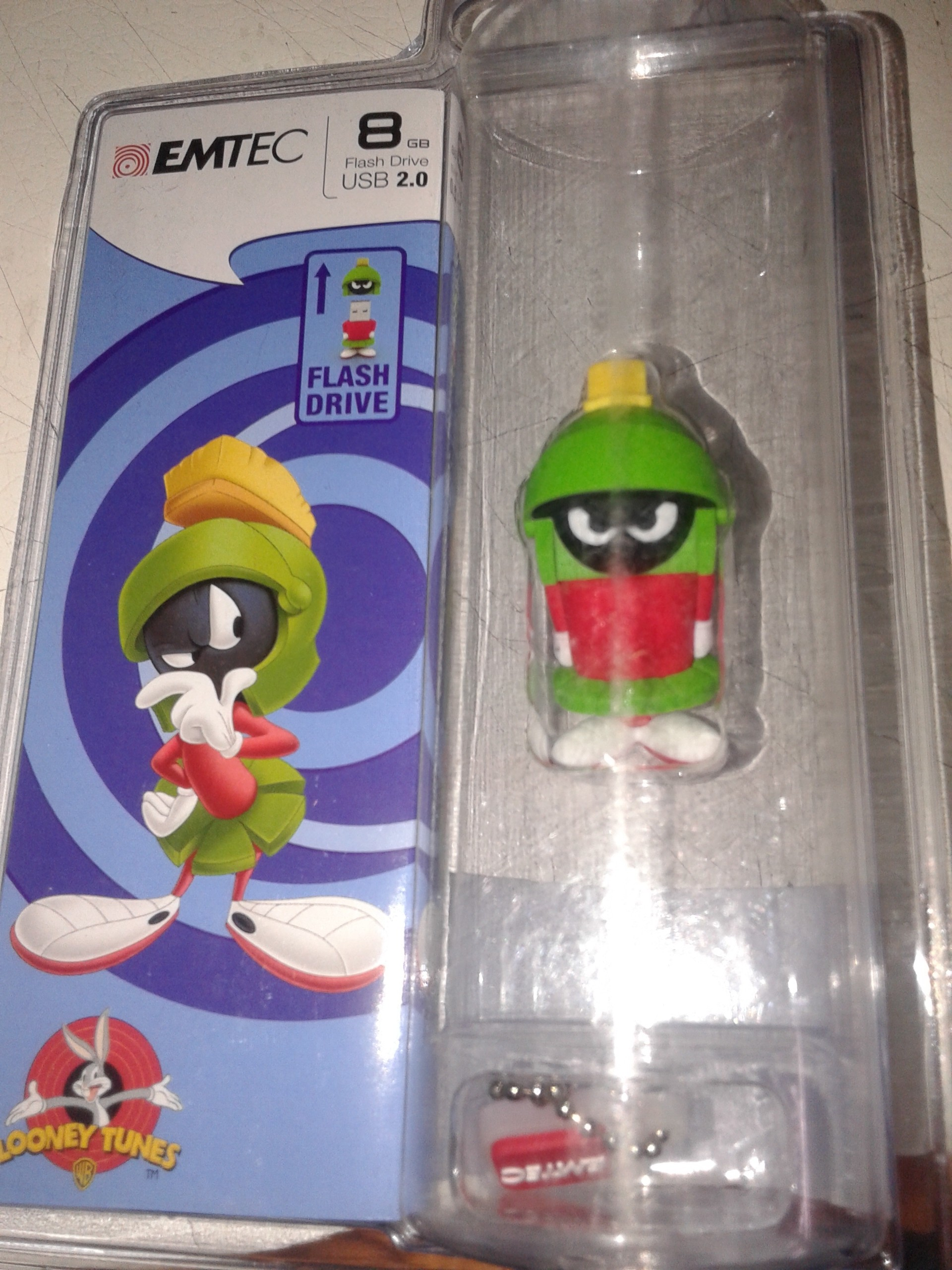 View Emtec Looney Tunes Marvin Pendrive 8 GB Pen Drive(Green) Price Online(Emtec)
