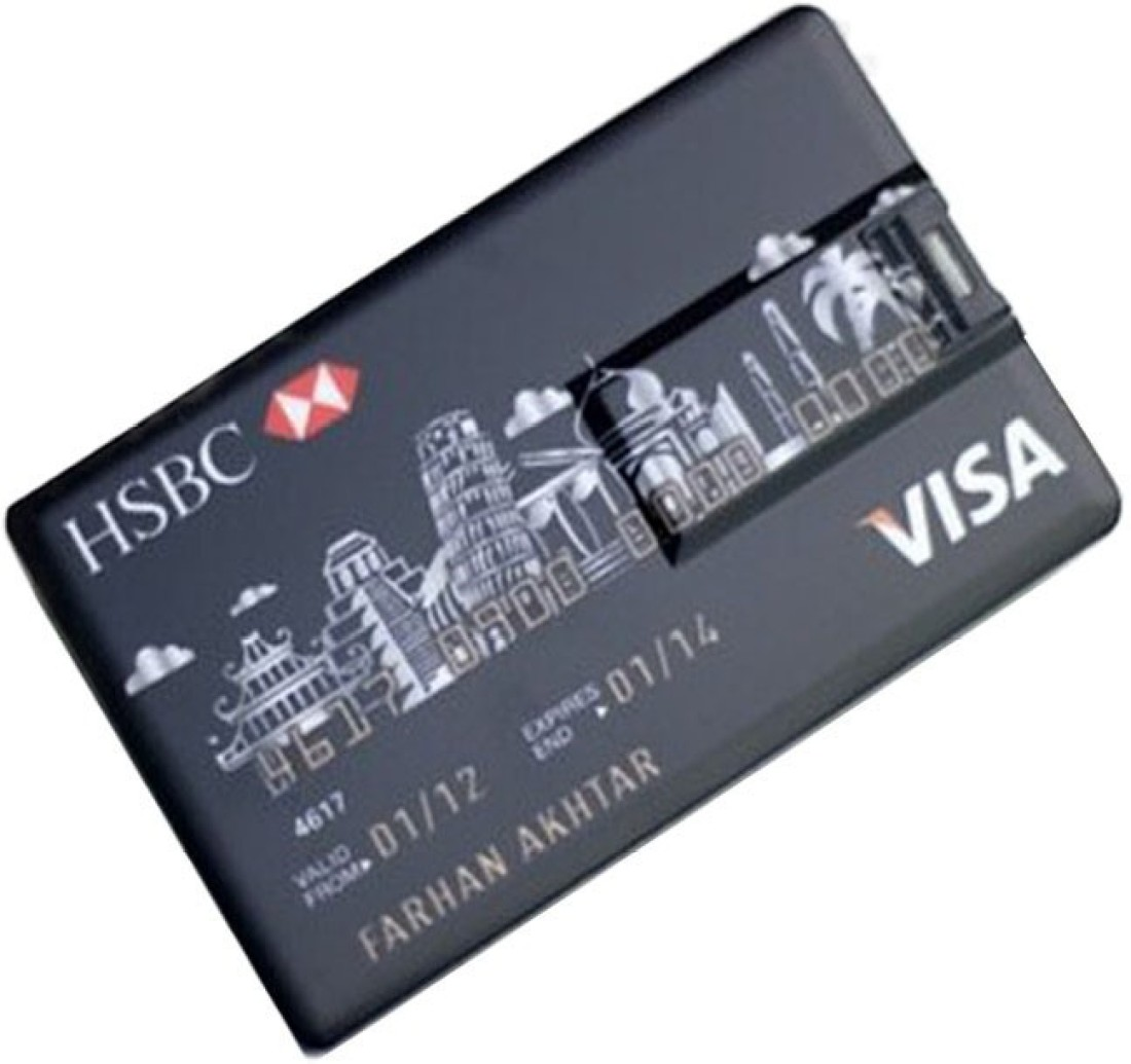 View Bs Spy 100 % Original Highspeed Credit Card Pendrive 8 GB Pen Drive(Multicolor) Price Online(Bs Spy)