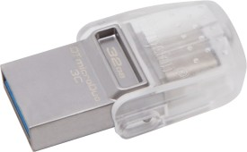 Kingston DTDUO3C/32GBIN 32 GB On-The-Go Pendrive