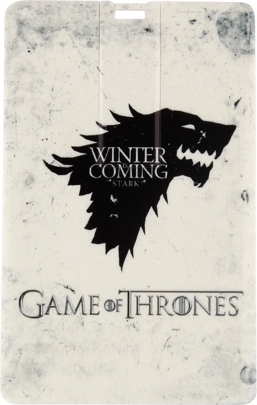 View Quace Game of Thrones Winter is Coming 32 GB Pen Drive(Multicolor) Price Online(Quace)