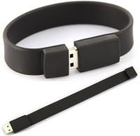 Flintstop Wrist Band USB-8-BK 8 GB Pen Drive(Black)