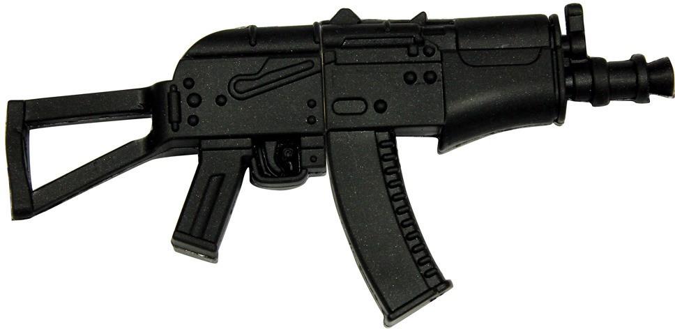 View Zeztee AKS-74U Gun Shape 8 GB Pen Drive(Multicolor) Price Online(Zeztee)
