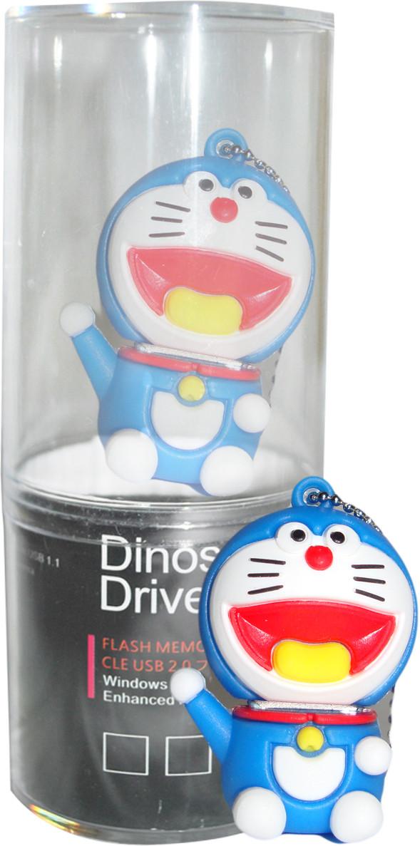 View Dinosaur Drivers Doremon 8 GB Pen Drive(Multicolor) Price Online(Dinosaur Drivers)