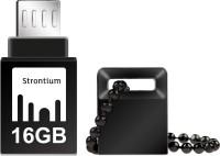 Strontium 16GB NITRO ON-THE-GO (OTG) USB 3.0 FLASH DRIVE 16 GB OTG Drive(Black, Type A to Micro USB)
