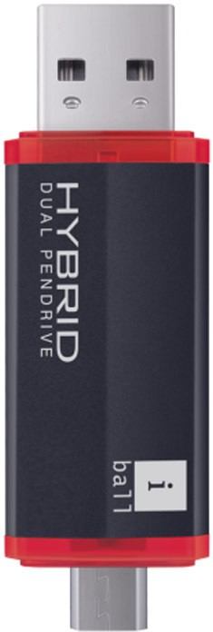 Iball Hybrid Pen Drive- 16 GB OTG Drive