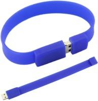 Flintstop Wrist Band USB-8-BL 8 GB Pen Drive(Blue)