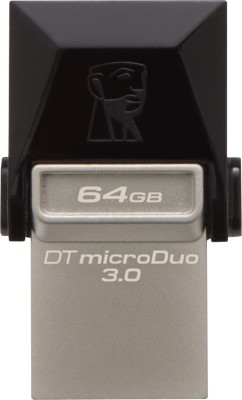 Kingston Data Traveler 3.0 MicroDuo 64 GB OTG Drive