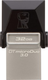 Kingston Data Traveler 3.0 MicroDuo 32 GB On-The-Go Pendrive