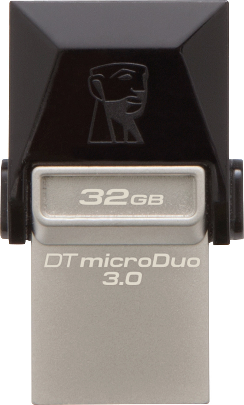 Kingston Data Traveler 3.0 MicroDuo 32 GB On-The-Go Pendrive Image