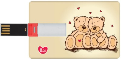 DIZIONARIO Valentine Gifts for Him and Her Pen Teddy ILU 8 GB Pen Drive